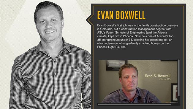 Evan Boxwell: Profile for ASU Thrive Magazine